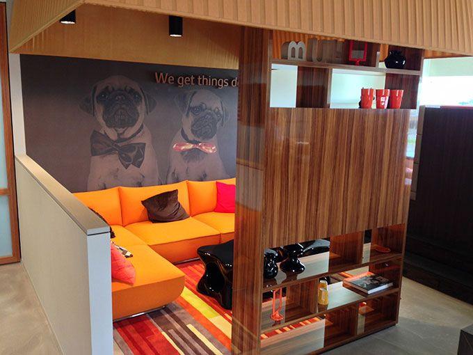 Banken op maat gemaakt voor uw kantoor logge - Kamer sfeer ...