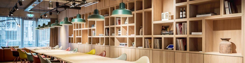 Boekenkast Of Bibliotheek Voor Uw Kantoor Logge