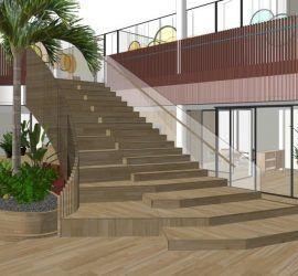 Eosta trap duurzaam iepenhout