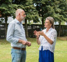 Janita Sassen Odette Ex en Jaap Logge