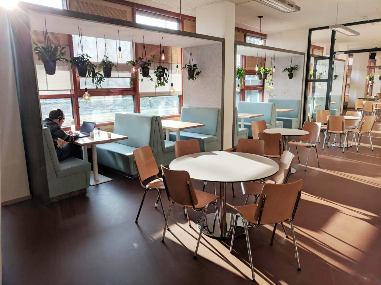 circulaire inrichting kantine - project WNF