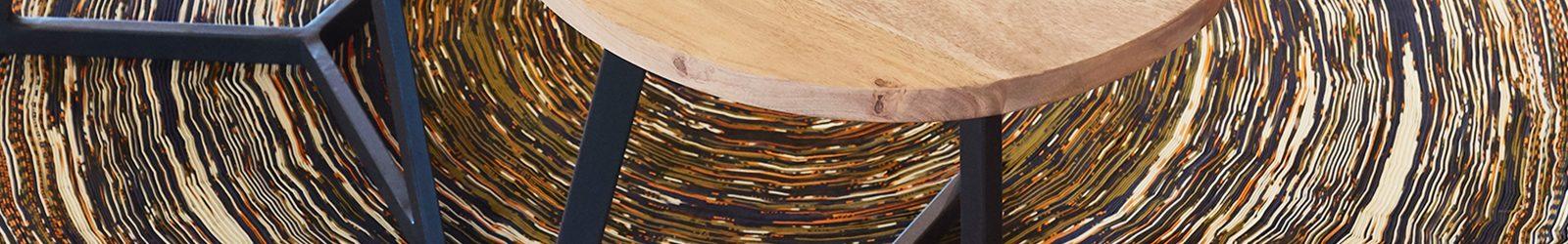Circulaire inrichting Eosta door Logge_Circulair detail vloerkleed tafeltjes.jpg